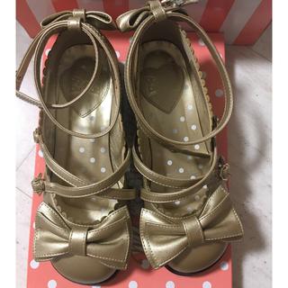 アンジェリックプリティー(Angelic Pretty)のAngelic pretty tea party靴 m size(ハイヒール/パンプス)