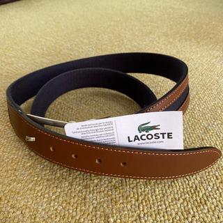 ラコステ(LACOSTE)の【未使用🐥】LACOSTE メンズ ベルト(ベルト)