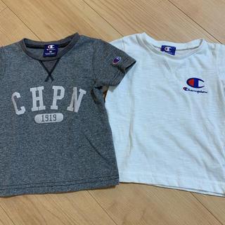チャンピオン(Champion)のチャンピオン Tシャツ 95 セット Champion 白 グレー Tシャツ(Tシャツ/カットソー)