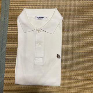エクストララージ(XLARGE)のX-LARGE XLARGE エクストララージ ポロシャツ tシャツ  m 刺繍(ポロシャツ)