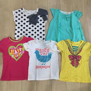 mou jon jon - ムージョンジョン  トップス Tシャツ 5枚セット
