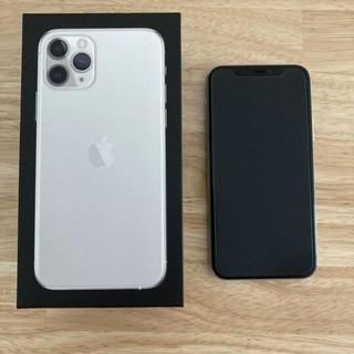 iPhone - iPhone 11 pro 256G シルバー SIMロック解除済み