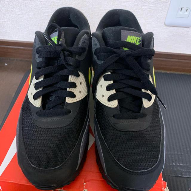 NIKE(ナイキ)の超希少!完売品!美品!ナイキ NIKE エアマックス90 ボルト メンズの靴/シューズ(スニーカー)の商品写真