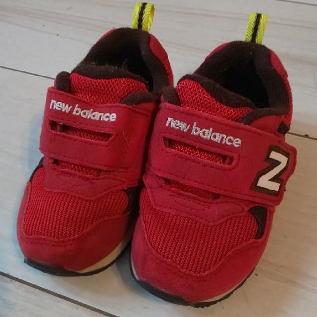 New Balance(ニューバランス)のdeko様専用☆ニューバランス☆14㎝ キッズ/ベビー/マタニティのベビー靴/シューズ(~14cm)(スニーカー)の商品写真