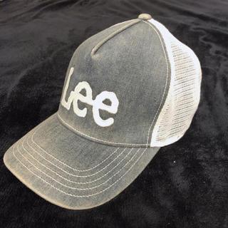 リー(Lee)のlee キャップ デニム メンズ レディース(キャップ)