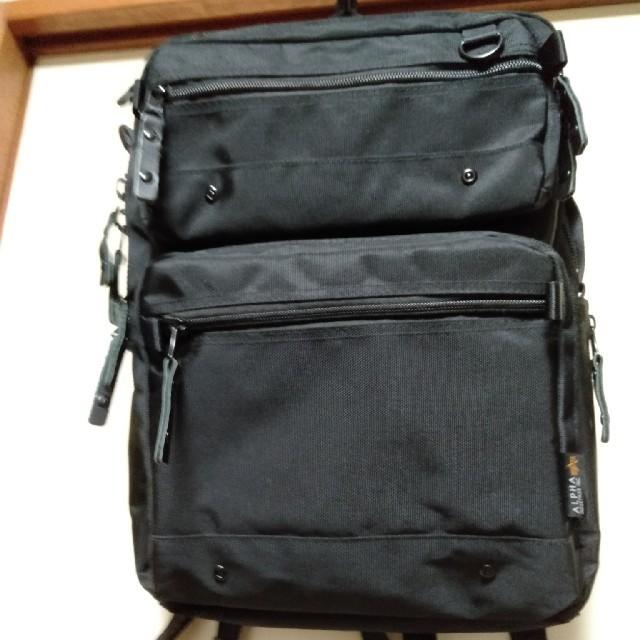 ALPHA INDUSTRIES(アルファインダストリーズ)のALPHA INDUSTRIES アルファインダストリーズ リュック メンズのバッグ(バッグパック/リュック)の商品写真