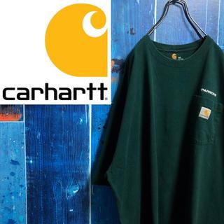carhartt - 【カーハート】ロゴタグ・刺繍ロゴ入りポケットビッグTシャツ
