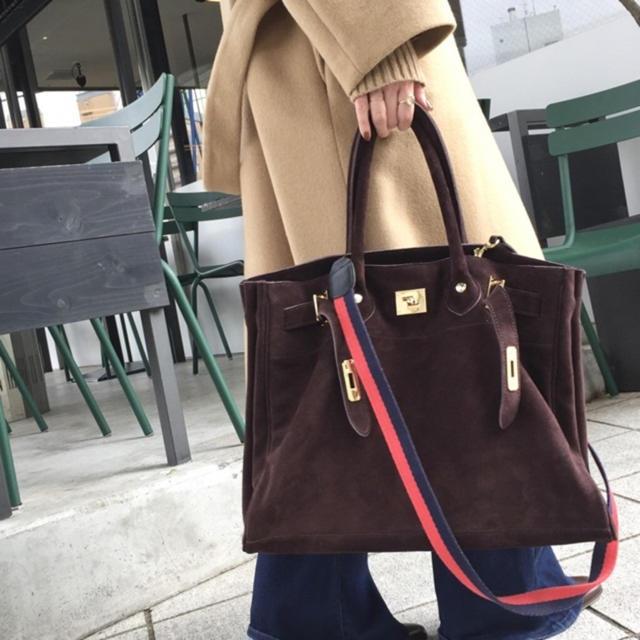 L'Appartement DEUXIEME CLASSE(アパルトモンドゥーズィエムクラス)のタグ付き新品◇SITA PARANTICA Suede Tote Bag レディースのバッグ(トートバッグ)の商品写真