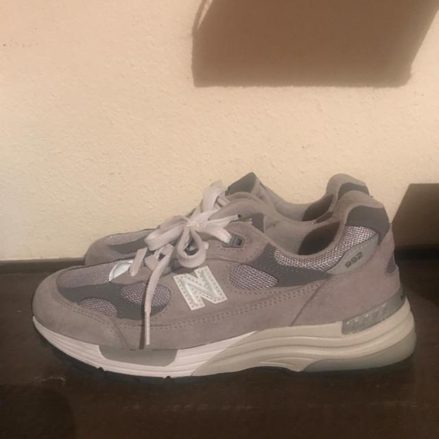 New Balance(ニューバランス)のNew Balance M 992 GR 24.5cm 国内正規品 レディースの靴/シューズ(スニーカー)の商品写真