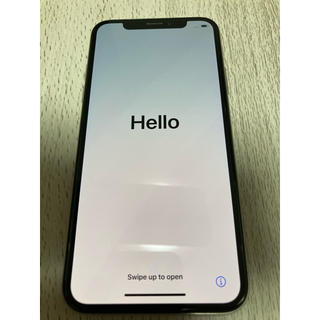 Apple - iPhone Xs Silver 256 GB au simフリー