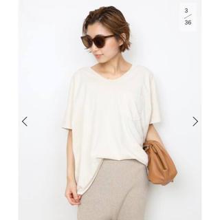 DEUXIEME CLASSE - 【SKARGORN】ポケツキワイド Tシャツ ナチュラル 未開封新品タグ付