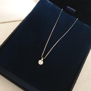 プラチナダイヤモンドネックレス(ネックレス)