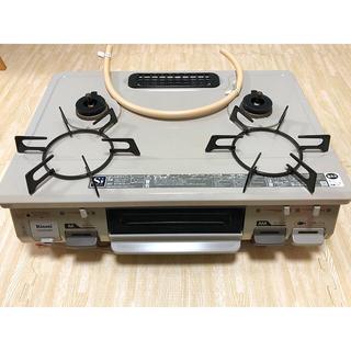 リンナイ(Rinnai)の【美品】最終値下げ Rinnai KGM64BE 強力火力右側 送料込み(調理機器)