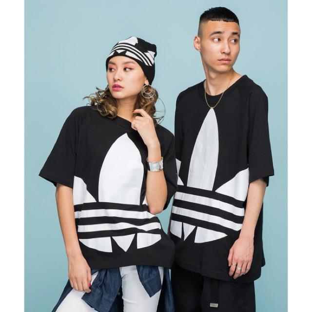 adidas(アディダス)のアディダス オリジナルス ビックロゴ Tシャツ 2枚セット ペア メンズのトップス(Tシャツ/カットソー(半袖/袖なし))の商品写真