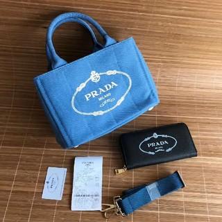 PRADA - PRADAプラダカナパMサイズお財布セット