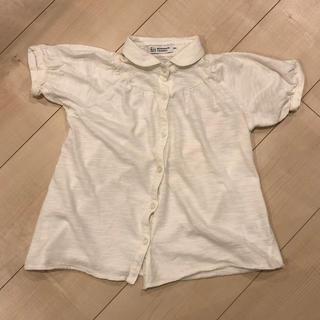 セブンデイズサンデイ(SEVENDAYS=SUNDAY)のsevendays=sunday 女の子 半袖 ブラウス 110cm (Tシャツ/カットソー)