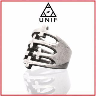 ユニフ(UNIF)のUNIF♡CROSSED UP RING(リング(指輪))