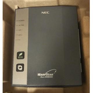 エヌイーシー(NEC)の(最終値下げ)Wi-Fi  Aterm WR8600N (PC周辺機器)
