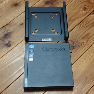 レノボ(Lenovo)のLenovo ThinkCentre M72e Tiny 3856A8J(デスクトップ型PC)