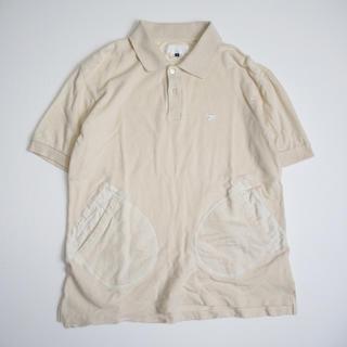 ガンリュウ(GANRYU)のGANRYU ガンリュウ AD2014 デザインポロシャツ コムデギャルソン (ポロシャツ)