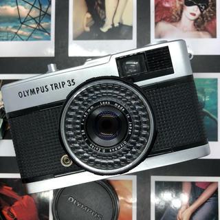 オリンパス(OLYMPUS)の【保証付:完動品】OLYMPUS trip35 フィルムカメラ【美品】(フィルムカメラ)