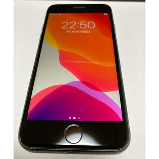 iPhone - 美品 iPhone8本体 64GB SIMフリー端末 Space Gray