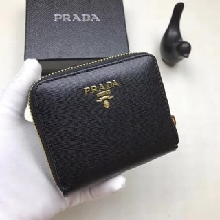 PRADA - プラダ 折り財布小銭入れ付き PRADA