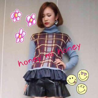 ハニーミーハニー(Honey mi Honey)のhoney mi honey♡美品(ニット/セーター)