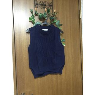 ロペピクニック(Rope' Picnic)のロペピクニック 袖なしニット(ニット/セーター)