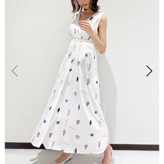 ジェラートピケ(gelato pique)の新品☆ シェルモチーフロングドレス(ルームウェア)