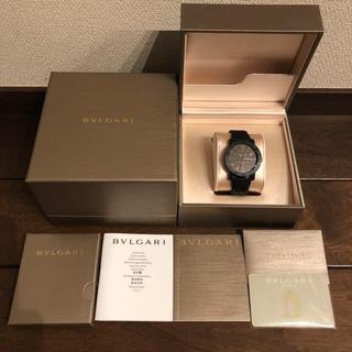 ブルガリ(BVLGARI)の週末値下げ!!腕時計 ブルガリ カーボンゴールド(腕時計(アナログ))