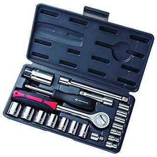 角利産業 ソケットレンチセット MSR-21 21点 1セット(工具/メンテナンス)