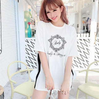 レディー(Rady)のDarling & Honey chan♡Tシャツ  S(Tシャツ(半袖/袖なし))