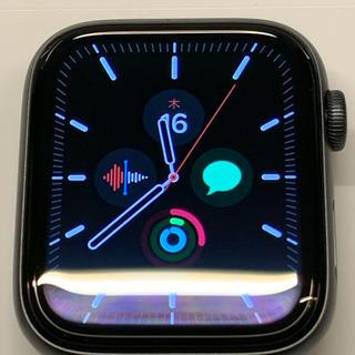 アップルウォッチ(Apple Watch)のApple Watch series5 44mm GPS アップルウォッチ5(スマートフォン本体)