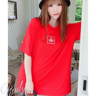 レディー(Rady)のシャンデリアTシャツ  S(Tシャツ(半袖/袖なし))