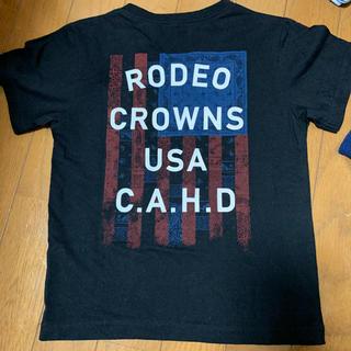 ロデオクラウンズワイドボウル(RODEO CROWNS WIDE BOWL)のロデオキッズ☀︎*.。Lサイズ(Tシャツ/カットソー)