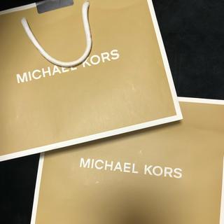 マイケルコース(Michael Kors)のMICHEAL KORS  ショッパー(ショップ袋)