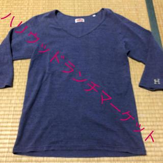 ハリウッドランチマーケット(HOLLYWOOD RANCH MARKET)のハリウッドランチマーケット 7分袖Tシャツ 即購入可☆(Tシャツ(長袖/七分))