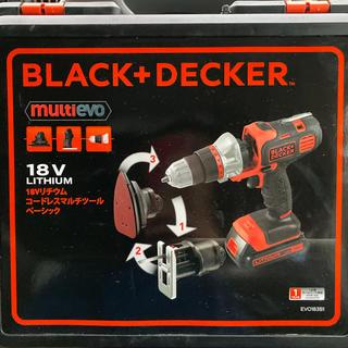 ブラックアンドデッカー マルチツール(工具/メンテナンス)