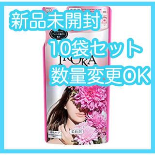カオウ(花王)の【新品】フレア フレグランス IROKA シアーブロッサムの香り 詰替 10袋(洗剤/柔軟剤)