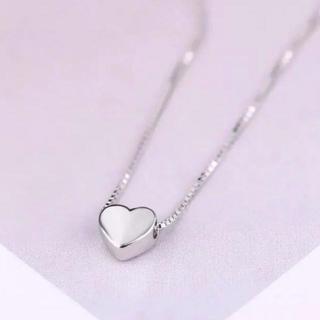 ハートネックレス silver925(ネックレス)