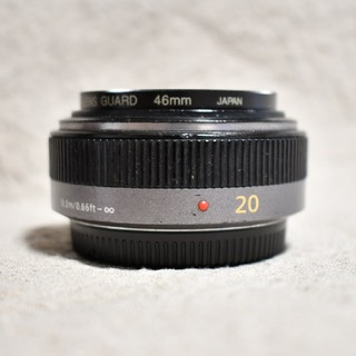 Panasonic - 単焦点 LUMIX G 20mm F1.7