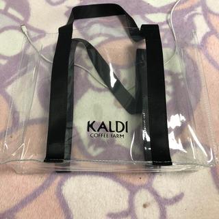 カルディ(KALDI)のKALDIクリアバック(ハンドバッグ)