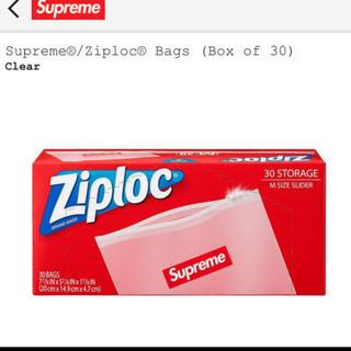 シュプリーム(Supreme)の1箱 Supreme ziploc 20SS シュプリーム ジップロック 30枚(収納/キッチン雑貨)