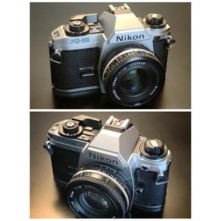 ニコン(Nikon)のNikon FG-20/NIKKOR 50mm f1.8 動作品(フィルムカメラ)