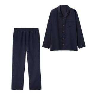 GU - GU サテンパジャマ(長袖)
