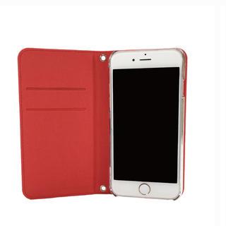 スマホケース iPhone5s用 赤(iPhoneケース)