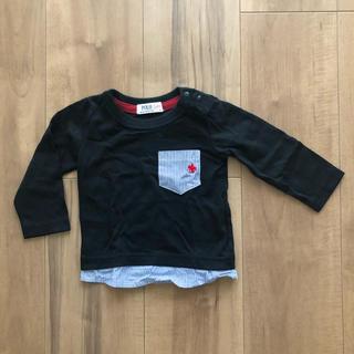 ポロラルフローレン(POLO RALPH LAUREN)のpolo baby 70 60 ロンT ブラック(Tシャツ)