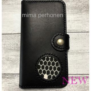 ミナペルホネン(mina perhonen)の新品iPhoneXケース mina perhonen honeycomb(iPhoneケース)