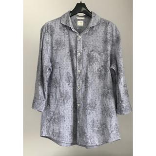 バックナンバー(BACK NUMBER)のBACKNUMBER メンズ シャツ 麻 七分袖 XL(シャツ)